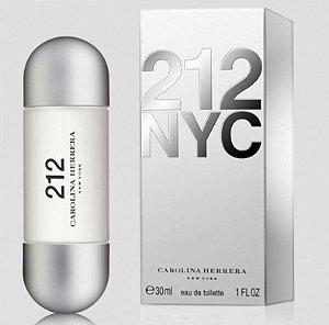 212 Eau de Toilette Carolina Herrera 30ml - Perfume Feminino