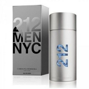 212 Men Eau de Toilette Carolina Herrera 30ml - Perfume Masculino