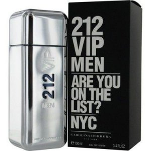 212 VIP Men Eau de Toilette Carolina Herrera 30ml - Perfume Masculino