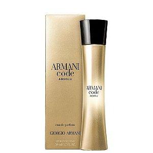 Armani Code Absolu Eau de Parfum Giorgio Armani 50ml - Perfume Feminino
