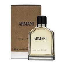 Armani Eau Pour Homme Eau de Toilette Giorgio Armani 100ml - Perfume Masculino
