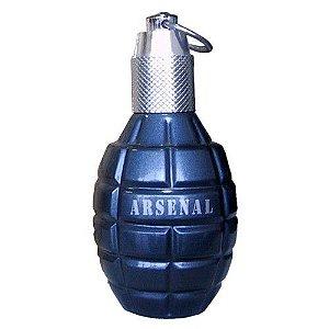 Arsenal Blue Eau de Parfum Gilles Cantuel 100ml - Perfume Masculino