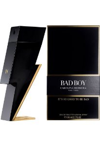 Bad Boy Carolina Herrera Eau de Toilette 100ml - Perfume Masculino