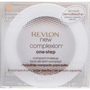 Base Compacta Revlon New Complexion One-Step Compact Makeup Natural Beige - 9,9g 2 em 1
