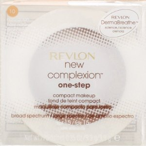 Base Compacta Revlon New Complexion One-Step Compact Makeup Natural Tan - 9,9g 2 em 1