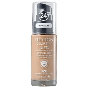 Base Revlon ColorStay Pele Normal e Seca Cor 320 True Beige / Beige Franc 30ml - Base Líquida FPS 20