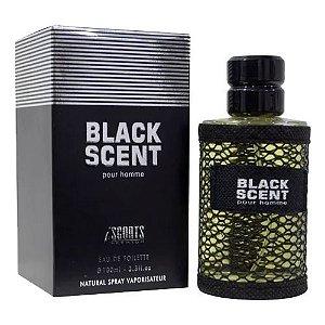 Black Scent Eau de Toilette Iscents 100ml - Perfume Masculino