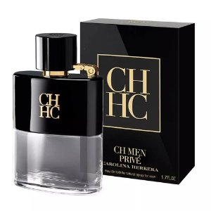 CH Men Privé Carolina Herrera Eau de Toilette 50ml - Perfume Masculino