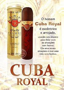 Cuba Royal Eau de Toilette - Perfume Masculino - 100ml