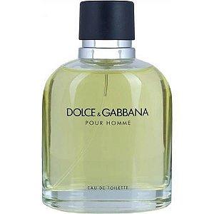 Dolce & Gabbana Pour Homme Eau de Toilette 125ml - Perfume Masculino