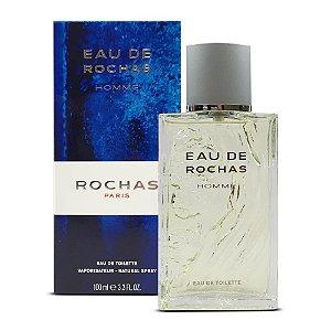Eau de Rochas Homme Rochas Eau de Toilette 100ml - Perfume Masculino