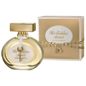 Her Golden Secret Eau de Toilette Antonio Banderas 80ml - Perfume Feminino