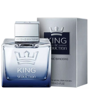 King of Seduction Eau de Toilette Antonio Banderas 100ml - Perfume Masculino​