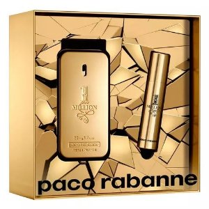 Kit 1Million Paco Rabonne Eau de Toilette 50ML + Miniatura 10ML - Masculino