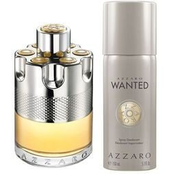 Kit Azzaro Wanted EDT 100ML + Desodorante Masculino Wanted 150ML - Perfume Masculino
