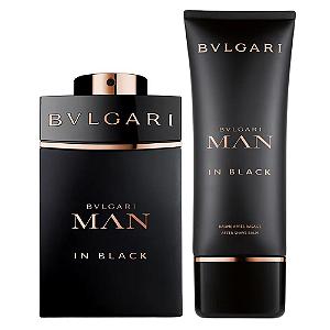 Kit Bvlgari Man in Black Eau de Parfum 100ml + Bálsamo Pós Barba 100ml + Nécessaire - Masculino