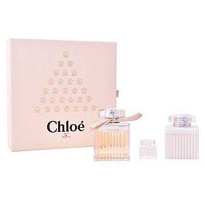 Kit Chloé Eau de Parfum 75ml + Body Lotion 100ml + Miniatura 5ml - Feminino