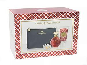 Kit Cristal Royal Passion Marina de Bourbon Eau de Parfum 100ml + Loção Corporal 150ml + Nécessaire - Feminino
