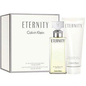 Kit Eternity Feminino Eau De Parfum 100ml + Loção Para Corpo 100ml
