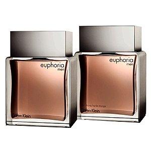Kit Euphoria Men Calvin Klein Eau de Toilette - Perfume Masculino 100ML + Loção Pós-Barba 100ML