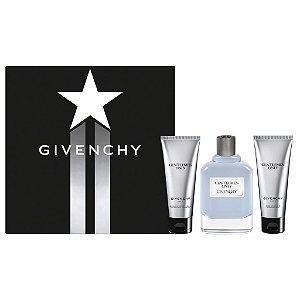 Kit Givenchy Gentlemen Only Eau de Toilette 100ml + Shampoo 75ml + Creme de Barbear 75ml