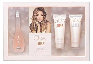 Kit Glow Jennifer Lopez Eau de Toilette 100ml + Body Lotion 75ml + Gel de Banho 75ml - Feminino