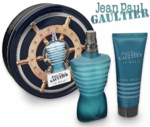 Kit Le Male Jean Paul Gaultier Masculino Eau de Toilette 75ml + Gel de Banho 75ml