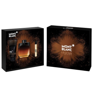 Kit Montblanc Legend Night Eau de Parfum 100 ml + Pós-barba 100ml + Roller Ball 7,5ml - Masculino
