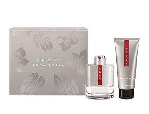 Kit Prada Luna Rossa Eau de Toilette 100ML + Pós Barba 100ML - Masculino