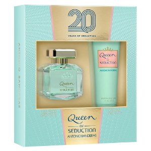 Kit Queen Of Seduction AB EDT 80ml, Hidratante Body Lotion 75ml - Feminino