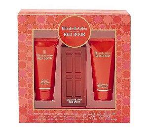 Kit Red Door Elizabeth Arden Eau de Toilette 100ml + Body Lotion 100ml + Shower Gel 100ml - Feminino