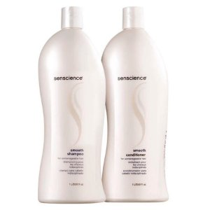 Kit Senscience Smooth - Shampoo e Condicionador - 1 Litro Cada