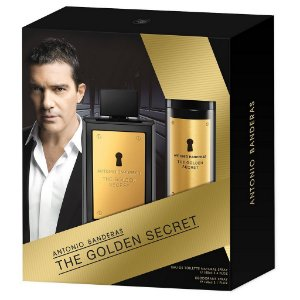 Kit The Golden Secret Eau de Toilette Antonio Banderas 100ml + Desodorante 150ml - Masculino