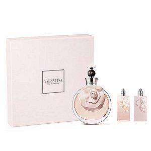 Kit Valentina 80 ml Eau de Parfum Feminino + 01 Shower Gel 50 ml + 01 Body Lotion 50 ml