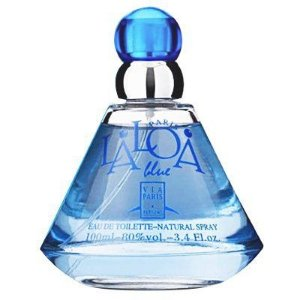 Laloa Blue Eau De Toilette Via Paris 100ml - Perfume Feminino