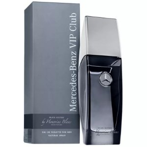 Mercedes-Benz Vip Club Black Leather Eau de Toilette 100ml - Perfume Masculino