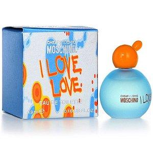Miniatura I Love Love Moschino 4,9ml - Perfume Feminino
