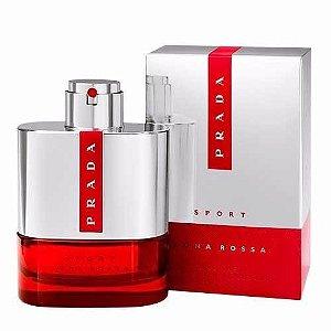 Miniatura Prada Luna Rossa Sport Eau de Toilette 9ML - Perfume Masculino