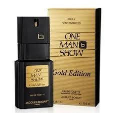 One Man Show Gold Eau de Toilette Jacques Bogart 100ml - Perfume Masculino