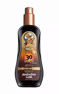 Spray Bronzeador Australian Gold Instant Bronzer FPS 30 - 237ML