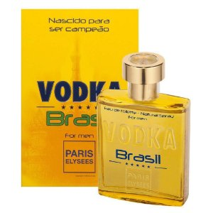 Vodka Brasil Yellow Eau de Toilette Paris Elysees 100ml - Perfume Masculino