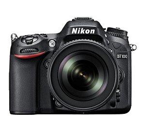 CÂMERA NIKON D7100 LENTE 18-105mm + CAPA, TRIPÉ E SD 64GB