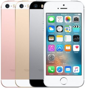 "APPLE IPHONE SE 16GB, 4G, IOS, PROCESSADOR DUALCORE, CÂMERA 12MP / 1.2MP, 2GB RAM, TELA 4"""
