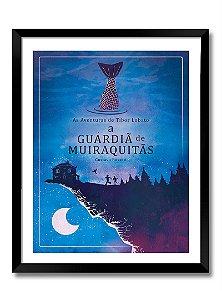 Poster A4 - A Guardiã de Muiraquitãs (sem moldura) impressão laser papel couchê 200gr. a cores