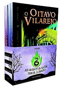 BOX Trilogia AS AVENTURAS DE TIBOR LOBATO - autografado!