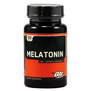 Melatonina 3mg (100 Tabs) - Optimum
