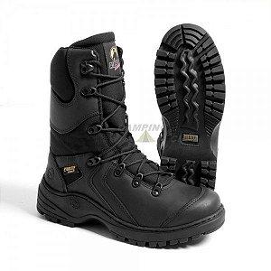 Coturno Bota Airstep Militar Tático Black Squad 8990-1