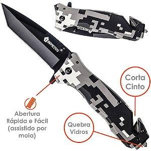 Canivete Tático Phanton Invictus