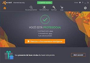 Avast Internet Security 2016 - Licença válida por 01 ano