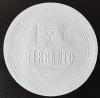 Porta Copos 10cm - Papel  Absorvente